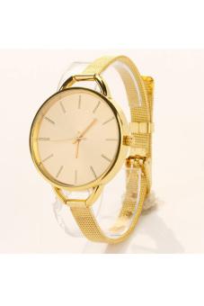Fashion Luxury Gold/Silver Quartz Lady Women Wrist Watch (Golden) - picture 2
