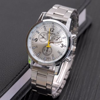 Fashion Men's Watches. Automatic Mechanical Watches. Six-pin, Steel Watch Band - intl