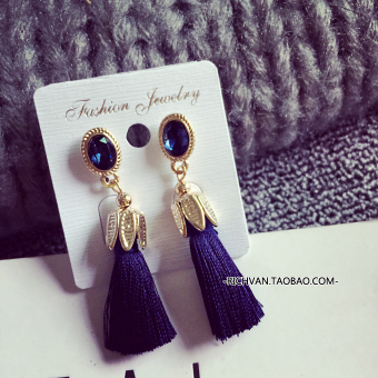 Fashion New style tassled earrings Korean-style earrings