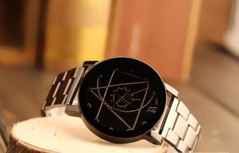 Fashion Watch Stainless Steel Women Quartz Analog Wrist Watch - intl - 4