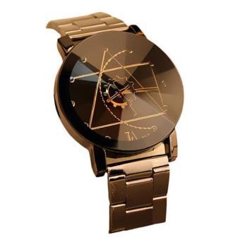 Fashion Watch Stainless Steel Women Quartz Analog Wrist Watch - intl - 5