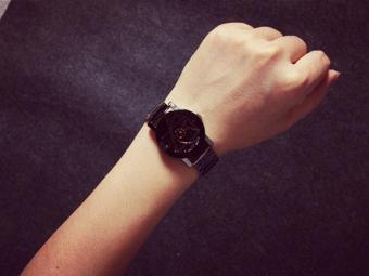 Fashion Watch Stainless Steel Women Quartz Analog Wrist Watch - intl - 3