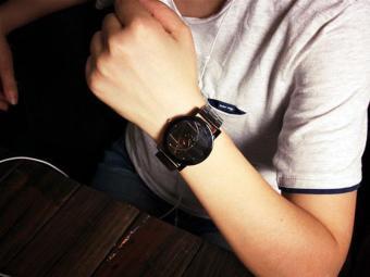 Fashion Watch Stainless Steel Women Quartz Analog Wrist Watch - intl - 2