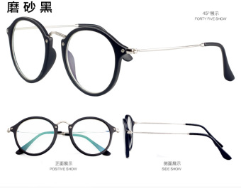 Female anti-Blueray computer mirror radiation glasses