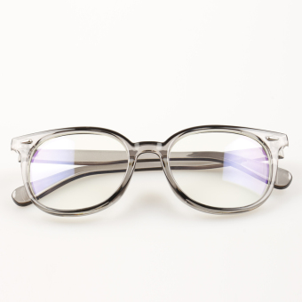 Female radiation protected anti-Blueray glasses plain mirror