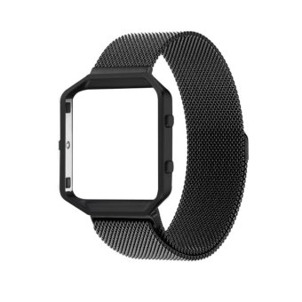 Philippines | Fitbit Blaze Smart Fitness Watch Band,Rugged Metal Frame Housing with Magnet Lock Milanese Loop Stainless Steel Bracelet Strap Band - intl Hot ...