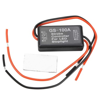 Flash Strobe Controller Flasher Module for LED Brake Stop LightLamp - intl