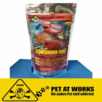 Flowerhorn Fish Food pellets (100g) for Fish food and other cichlidfish