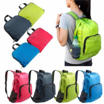 Foldable Backpack Foldable Travel Backpack Luggage Organizer As Seen On TV Travel Bag (Blue) - 2