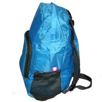 Foldable Bag Pack (Blue) - picture 3