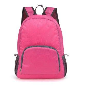 Foldable Bag Pack (Pink)