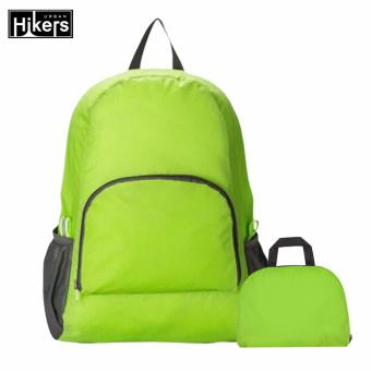Foldable Lightweight Travel Backpack for Camping and Hiking (Green)