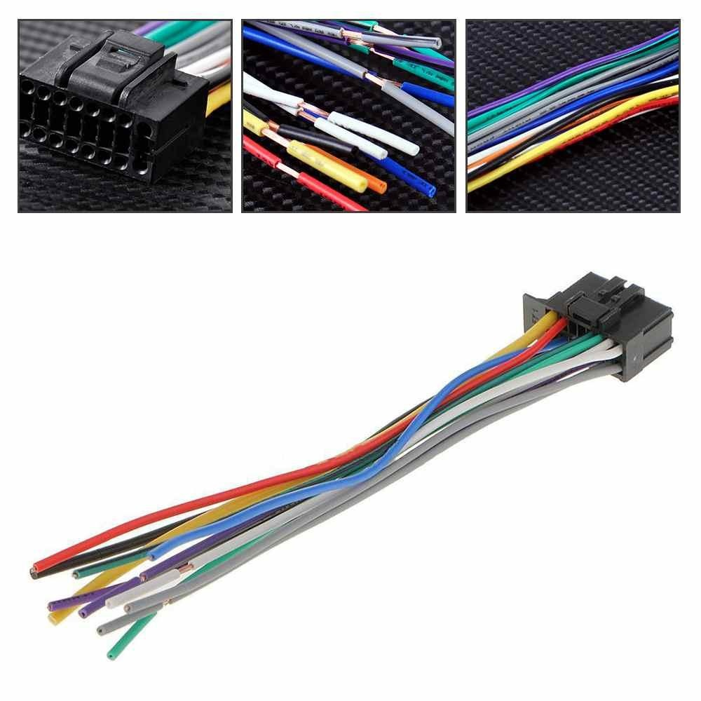 Philippines For Pioneer 2350 16 Pin Radios Wire Harness Car Stereo Radioreplacement Plug Intl