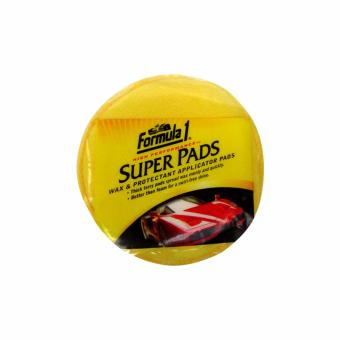 Formula-1 Super Pads Wax & Protectant Applicator Pads 2 Pcs/Set