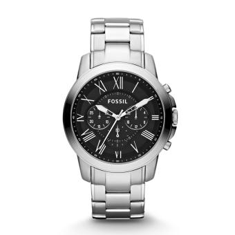 Fossil Men FS4736 Grant Chronograph Stainless Steel Watch