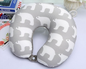 FP New product cute animal foam particle U type pillow wholesaletravel cushion pillow neck pillow - intl Price Philippines