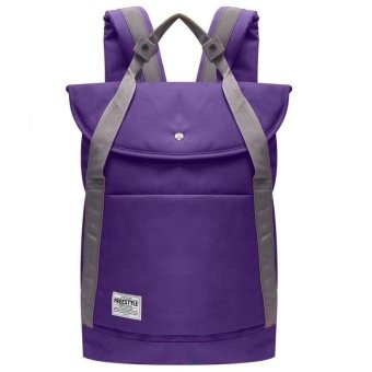 Freestyle FS 0072 Backpack with Laptop Compartment (Purple)