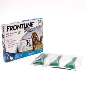 Frontline Tick & Flea Drops Pipet for Medium Breed Dogs (1pipet)