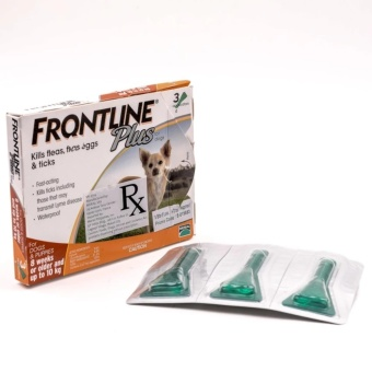 Frontline Tick & Flea Drops Pipet for Small Breed Dogs
