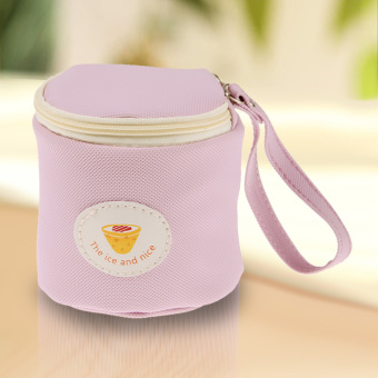 Frozen Cylinder Admission Package Cosmetic Purse (Purple) (Intl)