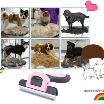Furminator Deshedding Brush Tool for Dog / Cat L Pink - intl - 3