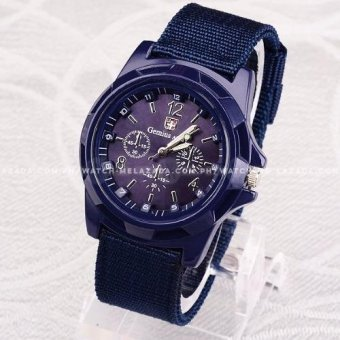 Gemius Army Men's Military Sport Canvas Strap Watch