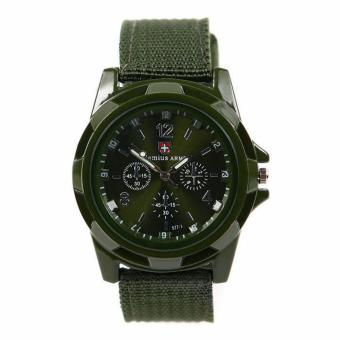GEMIUS ARMY Military Sport Style Army Watch (Green) Price Philippines