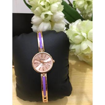 Geneva Claire Fashion Ladies Casual Bracelet Quarts Wrist Watch - 2