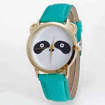Geneva Cutie Panda Bear Wrist Watch (Green) Price Philippines