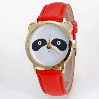 Geneva Cutie Panda Bear Wrist Watch (Red) Price Philippines