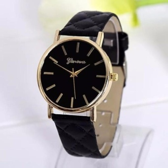 Geneva Elizabeth Watch (Black)