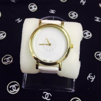 Geneva Fashion Ladies Casual Bracelet Quartz Wrist Watch Cs-1 (White)