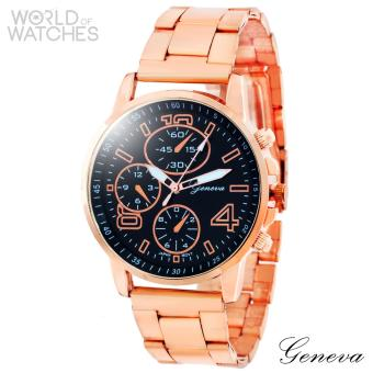 Geneva Hailey Stainless Steel Watch
