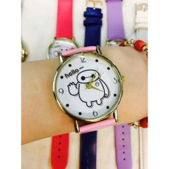 Geneva Hello by Baymax Wrist Watch (Pink)