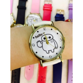 Geneva Hello By Baymax Wrist Watch (White)