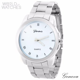 Geneva Lexia Stainless Steel Watch
