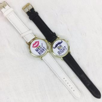 Geneva Mr. Right and Mrs. Always Right Couple Watch - 3
