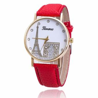 Geneva Paris Eiffel Tower Dial Leather Watch Price Philippines