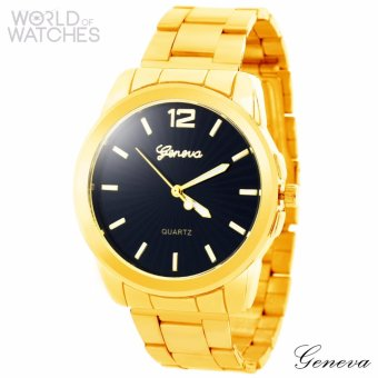 Geneva Steph Stainless Steel Watch