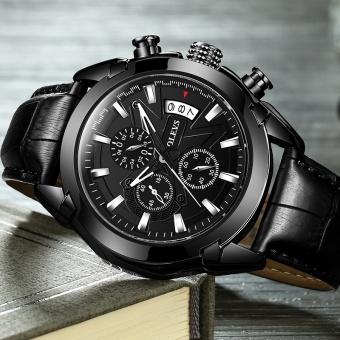 Genuine Automatic Watch OEVS Brand Men Calendar Display Quartz Auto Date Male Watches Water Resistant Sports Diver Wristwatch - intl - 3