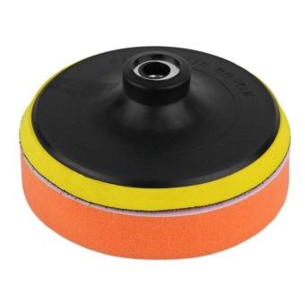 Gift 5 Inch Polishing Sponge Pad M10 Drill Adapter Kit For Car AutoPolisher 5Pcs - intl - 5