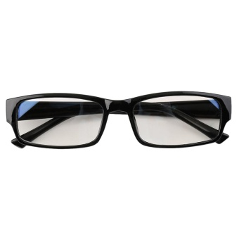 Gift Pc Tv Eye Strain Protection Glasses Vision Radiation Protection Glasses Black - intl