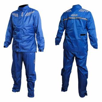GIVI RRS04 Rider Tech Rain Suit 04-Blue(3XL)