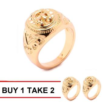 Glamorosa D' Hunks Horseshoe Ring (Gold) Buy 1 Take 2 Price Philippines
