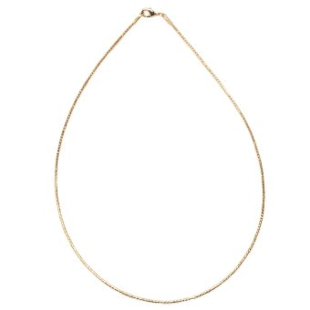 Glamorosa Gold Wire Necklace (Gold)