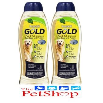 Gold Flea & Tick Shampoo Dog 18oz