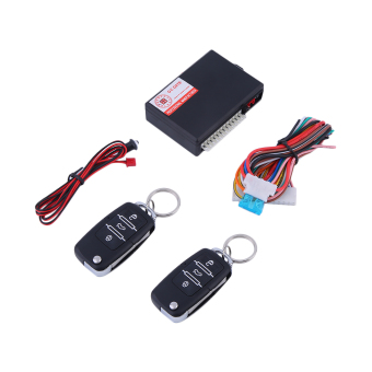 GOOD Universal Car Remote Control Central Door Locking Keyless Entry System Kit multicolor - Intl