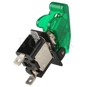 Green Light LED Toggle On and Off Switch (Green) - picture 2