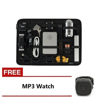Grid it Travel Organizer Cocoon Square With Free MP3 Watch Orange