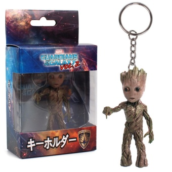 Guardians of the Galaxy 2 Tree baby Groot Keychain - intl Price Philippines
